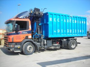 camion grua pulpo